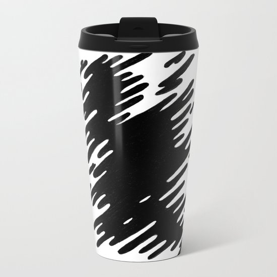 Fading away Metal Travel Mug