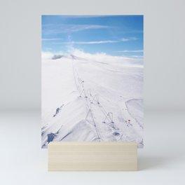 Perfect Alpine Ski Conditions Mini Art Print