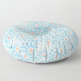 Hara Tiles Light Blue Floor Pillow