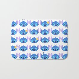 The Many Faces of Stitch Bath Mat