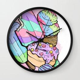 Sweet pops Wall Clock