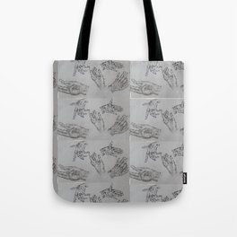 10000 Hands Tote Bag