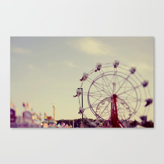 Cotton Candy Daydreams Canvas Print