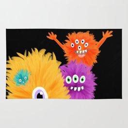 Hooray! Little Monsters Rug