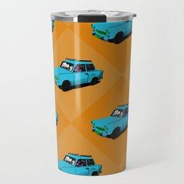 Trabant blue pop Travel Mug