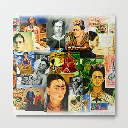 Obsessed with Frida Metal Print