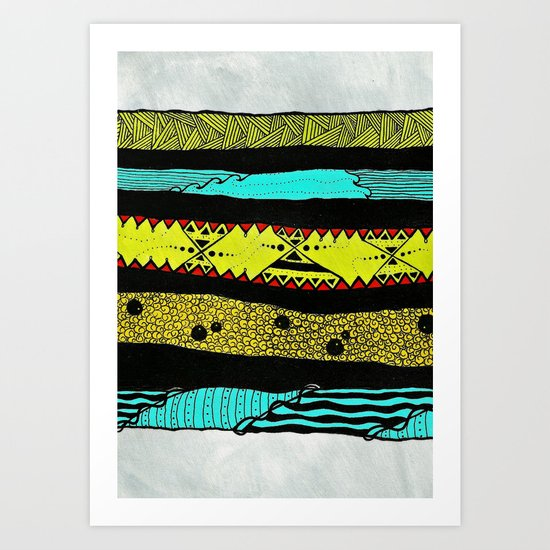 Sideways Art Print