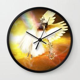 Rainbow Connection Wall Clock