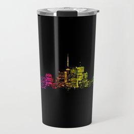 Toronto Skyline Gradient Travel Mug