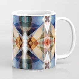 Earth Tones Geometric Abstract Pattern Coffee Mug