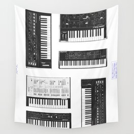 Collection : Synthetizers Wall Tapestry