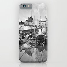 Tenby Harbour Boats.Pembrokeshire.B+W. iPhone 6s Slim Case