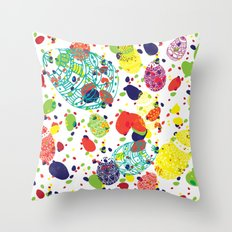 Great  Easter messy Throw Pillow