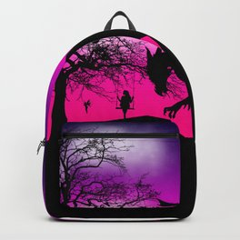 Fantasy Silhouette Backpack