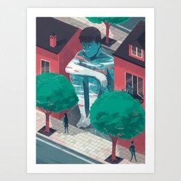 Absence Art Print