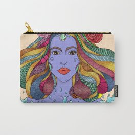Purple Goddess Carry-All Pouch