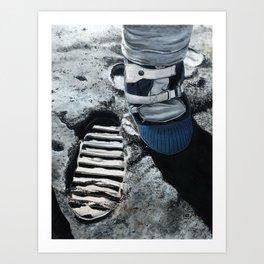 Moonboot Art Print