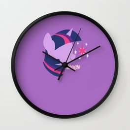 Twilight Sparkle Wall Clock