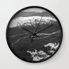 Glacier Buddies Wall Clock