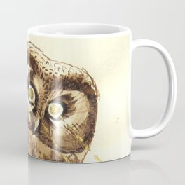 Laser Boreal Owl Coffee Mug