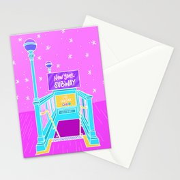 New York Subway Stationery Cards