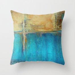 Caribbean Cargo Throw Pillow
