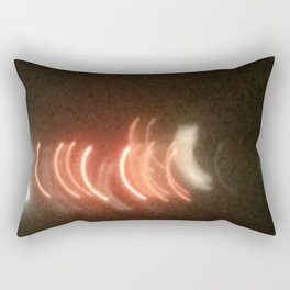 Abstracte Light Art in the Dark Version 24 Rectangular Pillow
