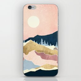 Coral Sunset iPhone Skin