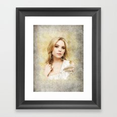 Pretty Little Liars: Hanna Marin Framed Art Print