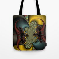 wicked Tote Bags featuring Wicked by Christy Leigh