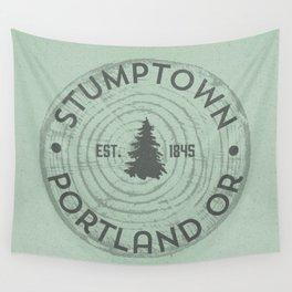 Stumptown Wall Tapestry