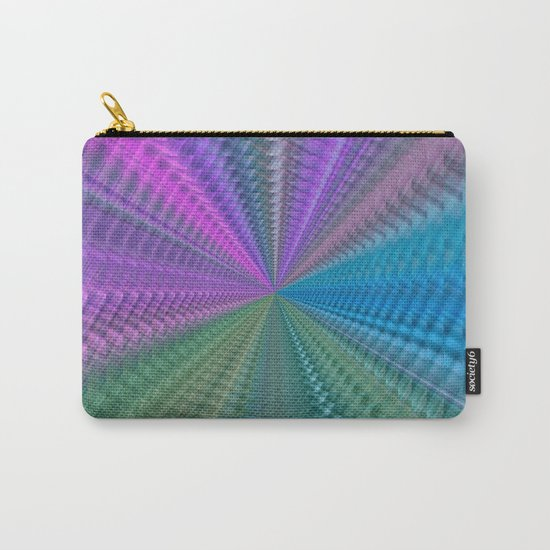 Psychedelic Twist Carry-All Pouch