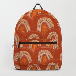 pumpkin arch pattern Backpack
