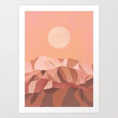 Hanna KL x Pearl Charles Art Print