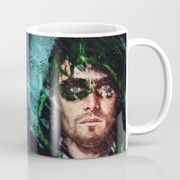 archer Mugs featuring The Archer by Monika Gross