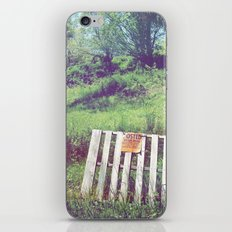 Eastern Edge of Refuge iPhone & iPod Skin
