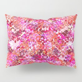 Fall Leaves (Pink) Pillow Sham