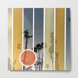 Boardwalk Nights Metal Print