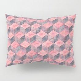 Rose Cubes Pillow Sham