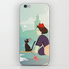 Delivery Service iPhone & iPod Skin