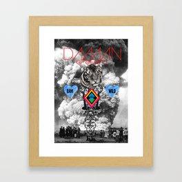 DAMN SYSTEM Framed Art Print