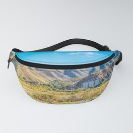 Beautiful mountain scenery desert in Andalucia, Spain Fanny Pack