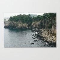 salt water Canvas Prints featuring Salt by Amie Santavicca