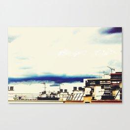 Les Toits de Paris Canvas Print