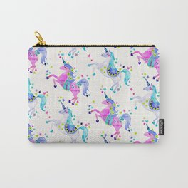 Pastel Unicorns Carry-All Pouch