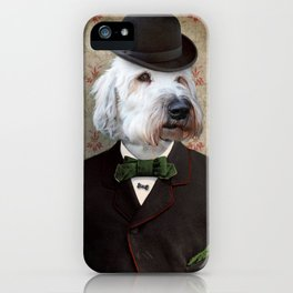 Sir Kansas - Wheaten Terrier iPhone Case