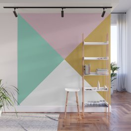 Geometric Pattern Wall Mural