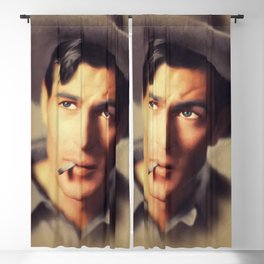 Gary Cooper, Hollywood Legend Blackout Curtain