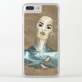 SeaBorn Gold Struck #5 Clear iPhone Case