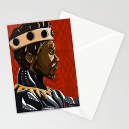 Long Live the King Stationery Cards
